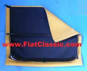 Folding roof completely assembled beige Fiat 500 F/L/R