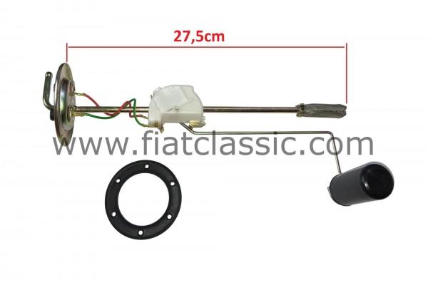 Tanksensor (halve tank) Fiat 500 Bianchina