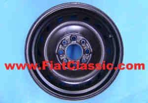 Steel rim 4x13 Fiat 126 - Fiat 500 - Fiat 600
