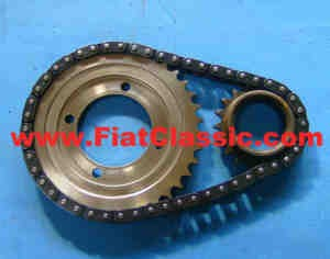 Timing chain set Fiat 126 (BIS)