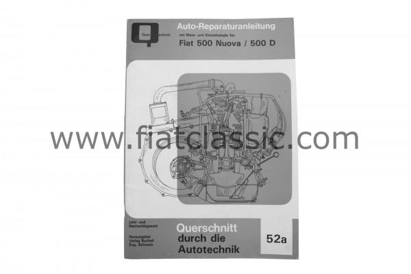 Fiat 500 copie du manuel de réparation automobile