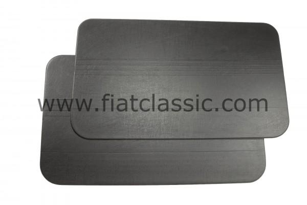 Deurpaneel zwart (paar) Fiat 500 F