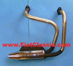 Sport exhaust single pipe Fiat 126 - Fiat 500