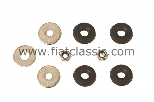 Mounting kit for rear shock absorber Fiat 126 - Fiat 500