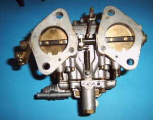 Dual carburettor DCOE 40 mm Fiat 126 (1st and 2nd series)