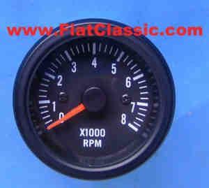 Drehzahlmesser 52mm/8000 Fiat 500