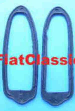 Rubber underlay taillight right/left Fiat 500 Giardiniera
