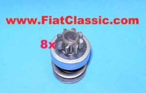 Starter pinion 8 teeth Fiat 500 N/D/Giardiniera - Fiat 600