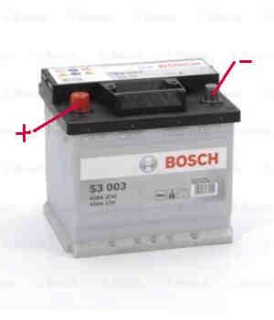 Autobatterie 21x18x19 cm Fiat 126 - Fiat 600