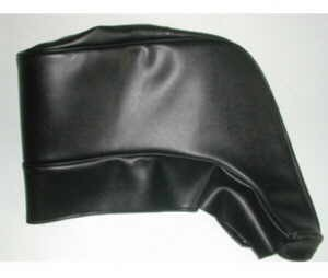 Folding roof cloth for cabriolet black Fiat 500 Bianchina