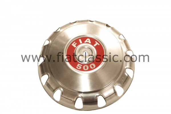 Wheel cap aluminium Fiat 500 (not R)