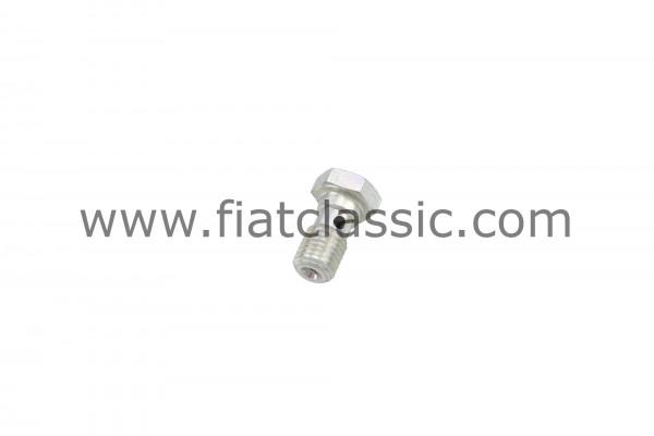 Banjo bout voor wielremcilinder voor Fiat 126 - Fiat 500 - Fiat 600
