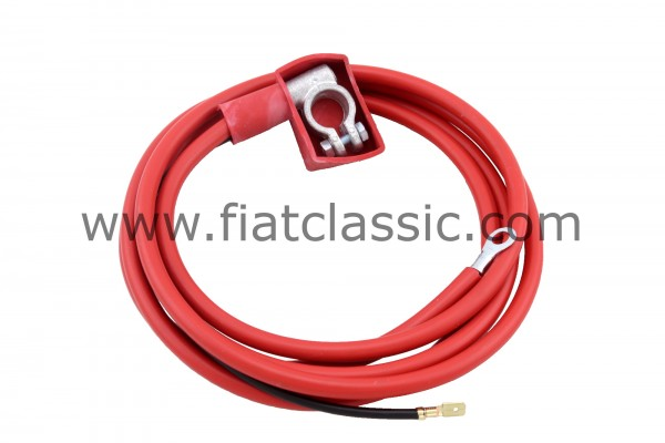 Main power cable battery/starter Fiat 126 - Fiat 500 - Fiat 600