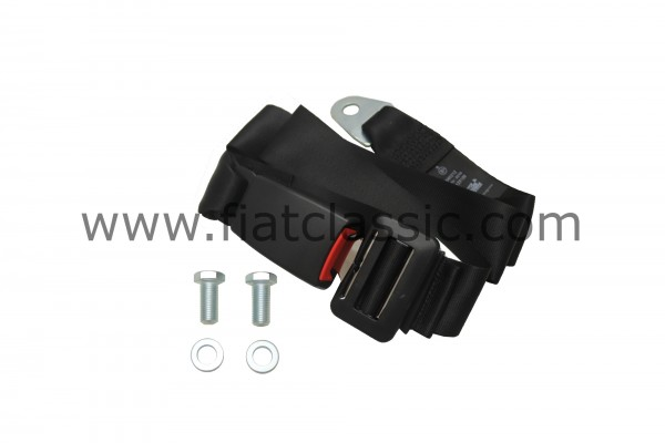 Becken-Sicherheitsgurt schwarz Fiat 126 - Fiat 500 - Fiat 600