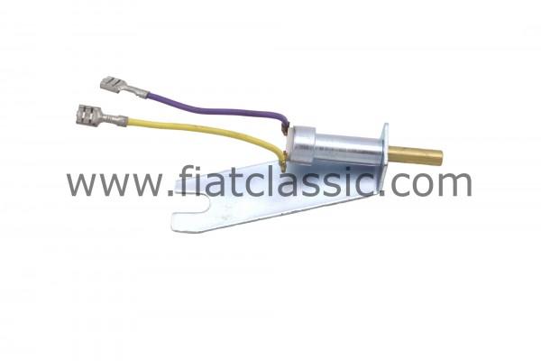 Reverse light switch on gear selector lever Fiat 500