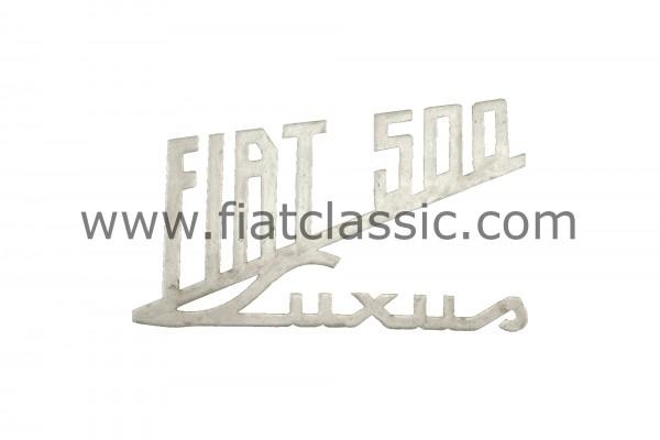 Achterkant embleem 'Luxe' Fiat 500
