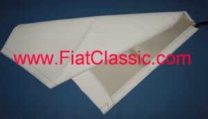 Vouwdakdoek wit Fiat 500 F/L/R