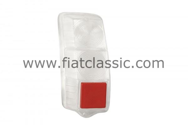 Tail light white, left Fiat 500 F / L / R