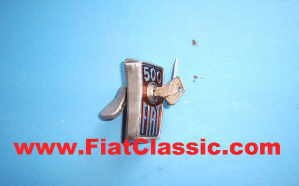 Front motorkapvergrendeling Fiat 500