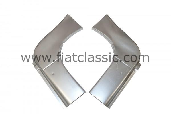 Vorderteile für Türschweller (Paar) Fiat 500 F/L/R