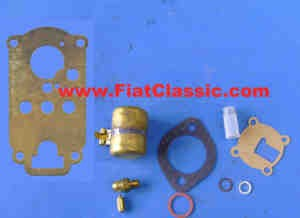 Carburetor repair kit Weber 22IM Fiat 600 Multipla