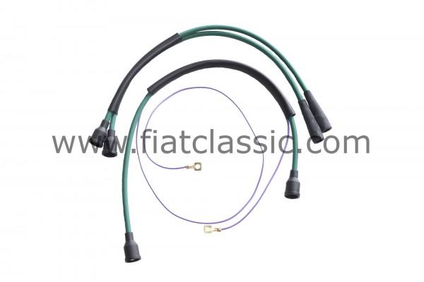 Jeu de câbles d'allumage Fiat 500 Giardiniera