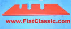 Handschuhfach rot Fiat 600