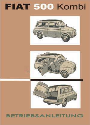 Mode d'emploi Fiat 500 Giardiniera