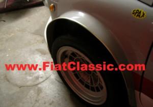 Front fender widening Fiat 600