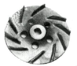 Leichtmetall-Lüfterrad Fiat 126 - Fiat 500