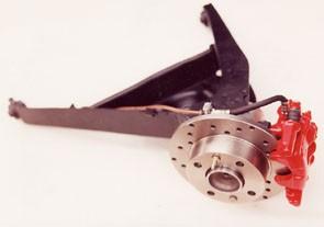 Impianto frenante a disco posteriore Fiat 126 - Fiat 500 - Fiat 600