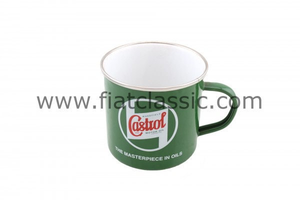Castrol Classic Emaille Becher