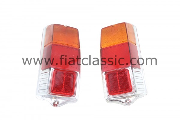 Taillight lenses pair Fiat 500 F/L/R