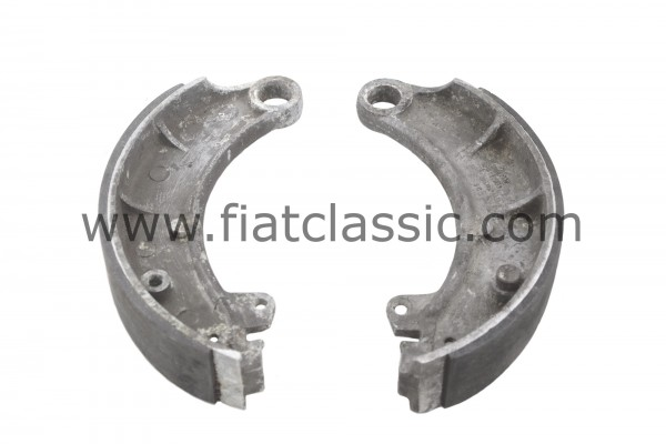 Brake pads aluminium, pair front Fiat 600, Fiat 600 Multipla