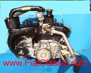 Engine 650 ccm ca. 27 PS Fiat 126 - Fiat 500