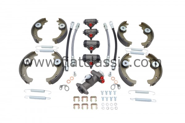 Kit de frein moyen Fiat 500 F / L