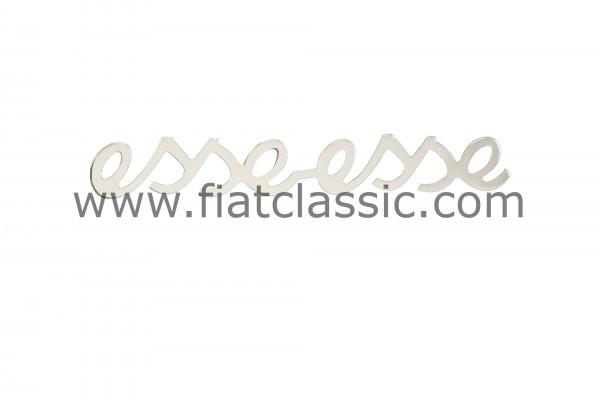 Emblema eat-esse Fiat 500