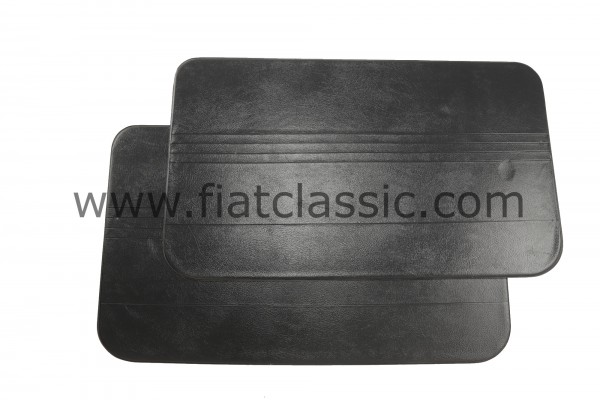 Deurpaneel zwart (paar) Fiat 500 R