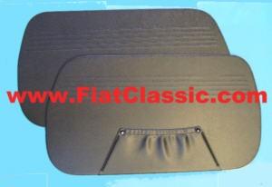 Panneaux de porte noirs Fiat 600, Zastava 750