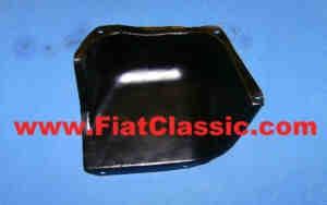 Sheet metal gearbox/starter used Fiat 600
