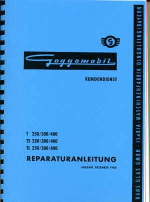 Car repair manual GOGGO Fiat 500 (not Bianchina)