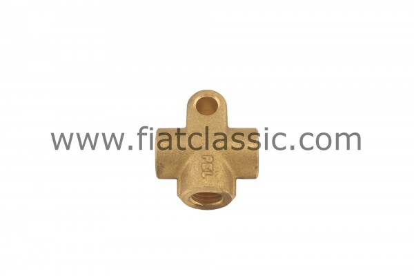 Brake line distributor Fiat 500 N/D/F (1st series)