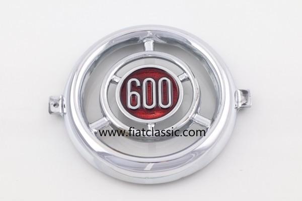 Frontemblem 600 Aluminium Fiat 600
