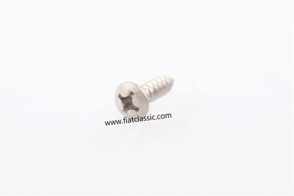 Stainless steel screw for A1135 Fiat 500