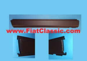 Left sill Fiat 500 Bianchina