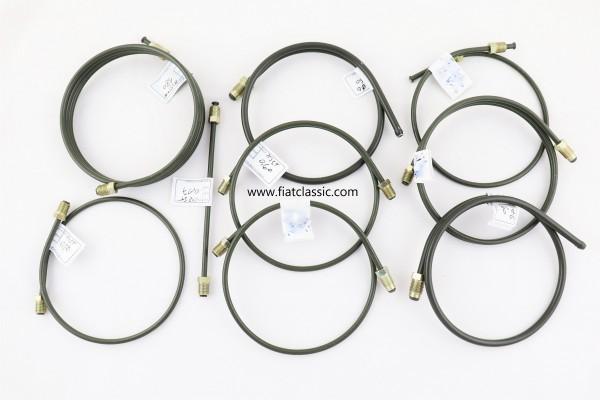 Remleiding set 2-circuit Fiat 600
