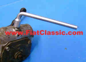 Angle wrench for oil level control Fiat 126 - Fiat 500 - Fiat 600