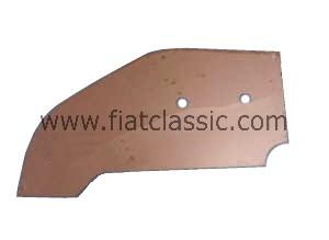 Steunplaat voor voorste steunplaat Fiat 126 - Fiat 500