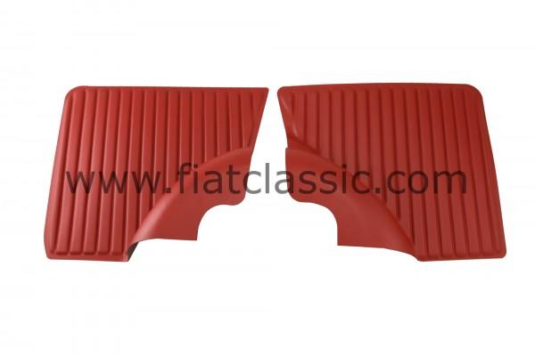 Rear fairing red Fiat 500 L