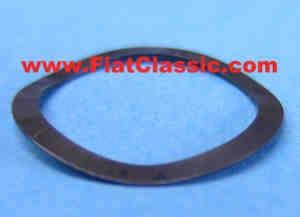 Corrugated disk for sliding block Fiat 600